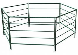 Free Standing Horse Corral Panels For Ranch High Tensile Steel Material