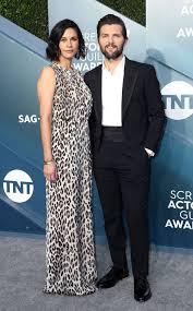 Naomi Scott & Adam Scott from 2020 SAG Awards: Red Carpet Couples ...