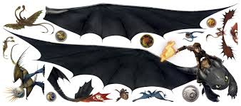 How To Train Your Dragon 2 Toothless Hiccup Wall Decal 32 X49 C