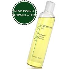 organys cleansing oil and makeup