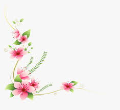pink flowers decoration png welcome quotes for birthday wishes