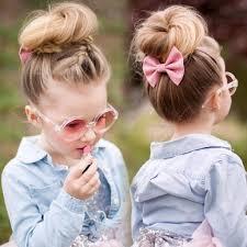 تسريحات شعر طويل ناعمة للاطفال مشاهير