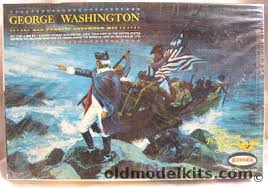 Aurora 1/12 George Washington Diorama, 852-198