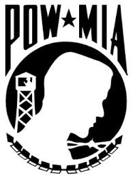 Pow Mia Decal Sticker