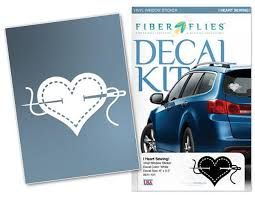 Decal I Heart Sewing White Bay Quilts