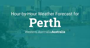 Hourly forecast for Perth, Western ...