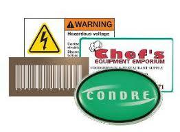 Should You Choose To Use A Polyester Label A Vinyl Label Or Lexan Label Name Plates