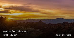 Aletan Fern Graham Obituary (1931 - 2020)   Mesquite, Texas