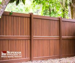 We Developed Heartwood A Vinyl Fence Superior Fence Rail Of Polk County Inc Facebook