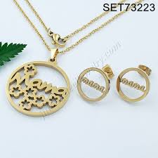 high quality snless steel gold