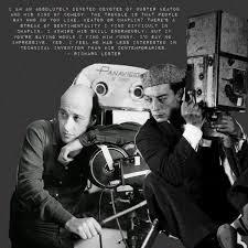 "Buster Keaton on Twitter: ""#TalkieTuesday Richard Lester, director, being  direct. #BusterKeaton #QuoteoftheDay… """