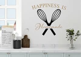 Winston Porter Happiness Is Homemade Kitchen Vinyl Wall Decal Wayfair