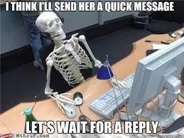 i think i ll send her a quick message