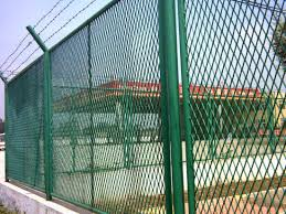 China Pvc Coated Expanded Steel Metal Sheet Fence Netting China Stainless Steel Expanded Steel Sheet Fence Pvc Plastic Coated Expanded Metal Mesh Fence
