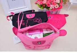 1pcs women portable cute o kitty