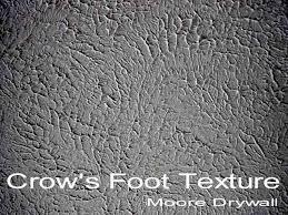 crow s foot moore drywall