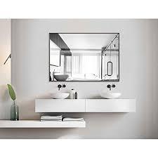 black bathroom mirrors com