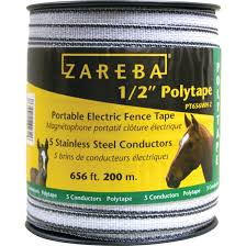 Fi Shock 0 5 In X 656 Ft White Electric Fence Polytape By Fi Shock At Fleet Farm