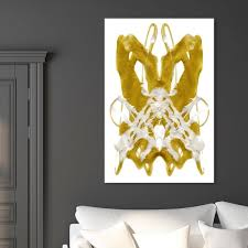Shop Oliver Gal Aria Abstract Wall Art Canvas Print Gold White Overstock 28584791