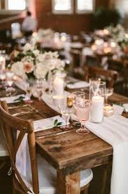 wedding reception decorations rustic
