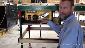 929 Benchtop Saw Table Upgrade Video 8 Youtube