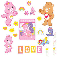 Shop Wallpops Care Bears Wall Appliques Overstock 9544643