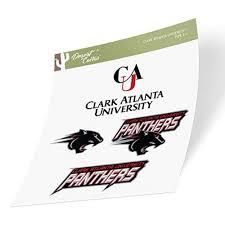 Clark Atlanta University Cau Panthers Ncaa Sticker Vinyl Decal Laptop Water Bottle Car Scrapbook Type 2 Sheet Walmart Com Walmart Com