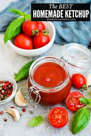 the best homemade ketchup made with