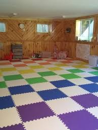 These Mats Are Just Perfect For Our Kids Playroom And Our Home Gym They Are Thick Enough To Be Comfortable To Sit On And Cushion An Foam Flooring At Home Gym