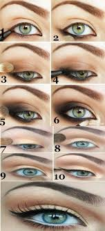 cute easy ways to do your eye makeup