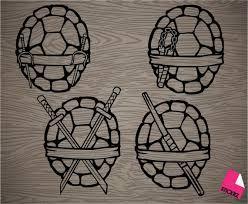 Pick Your Favorite Ninja Turtle Shell Vinyl Decal Sticker Ninja Turtles Ninja Turtle Tattoos Ninja Turtle Shells