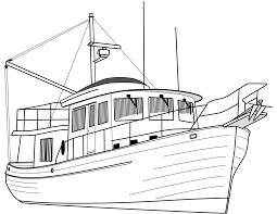 Du Thuyền - Trang Tô Màu Cho Bé
