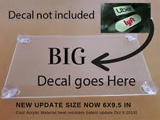 2 Uber Lyft Tips2 Removable Decal Sign Driver Placard Waterproof Car Sticker For Sale Online Ebay