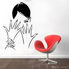 Nail Salon Wall Window Decal Nails Art Manicure Pedicure Beauty Salon Decor Vinyl Wall Stickers Home Decor Girls Bedroom Wall Accents Decals Wall Accents Stickers From Onlinegame 11 67 Dhgate Com