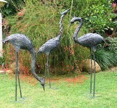 garden ornaments include statues