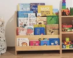 Kids Bookcase Etsy