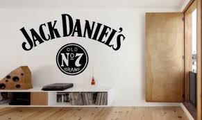 Large Jack Daniels Wall Art Sticker Decal By Stickwithmedesigns 19 99 College Apartment Decor Jack Daniels Apartment Decor