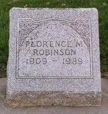 Florence Myrtle Robinson (1909-1989) - Find A Grave Memorial