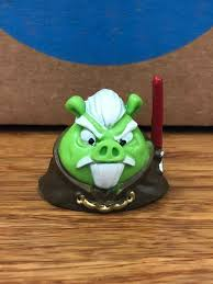 ANGRY BIRDS STAR WARS TELEPODS Count Dooku Pig with QR Code TESTED ...