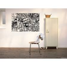 Shop Boston City Street Map Wall Art Sticker Decal Free Shipping On Orders Over 45 Overstock 11191193