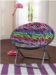 Cocoon Multi Rainbow Animal Faux Fur Saucer Chair Only 14 67 Was 29 88