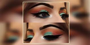 nationalism with tri colour makeup
