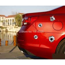 Aliauto 12 X Simulation Gun Bullet Hole Funny Car Stickers And Decal For Toyota Ford Chevrolet Golf Vw Honda Hyundai Kia Lada Car Sticker Car Stickers And Decalsfunny Car Stickers Aliexpress