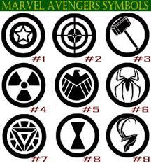 Marvel Avengers Symbols Vinyl Decal Sticker Car Wall Window Laptop Superhero Ebay