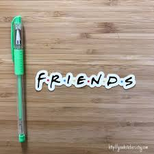 Friend Sticker Friend Decal Central Perk New York City Etsy