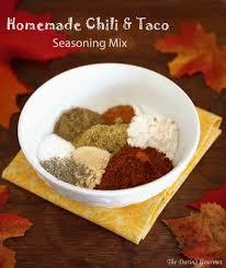 homemade chili taco seasoning mix