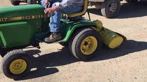 john deere hydro 317 garden tractor