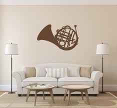 Ik161 Wall Decal Sticker Decor Music Jazz Tube Trumpet Interior Bed Stickersforlife