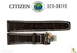 23mm brown leather watch band 4 r005995