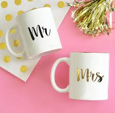 Mr Mrs Coffee Mugs